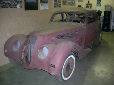 We Found This 1938 BMW 327 Buried In A Barn Ohio Rare Car Is The Most Beautiful Of All Pre War BMWs Its Restoration Scheduled To Begin